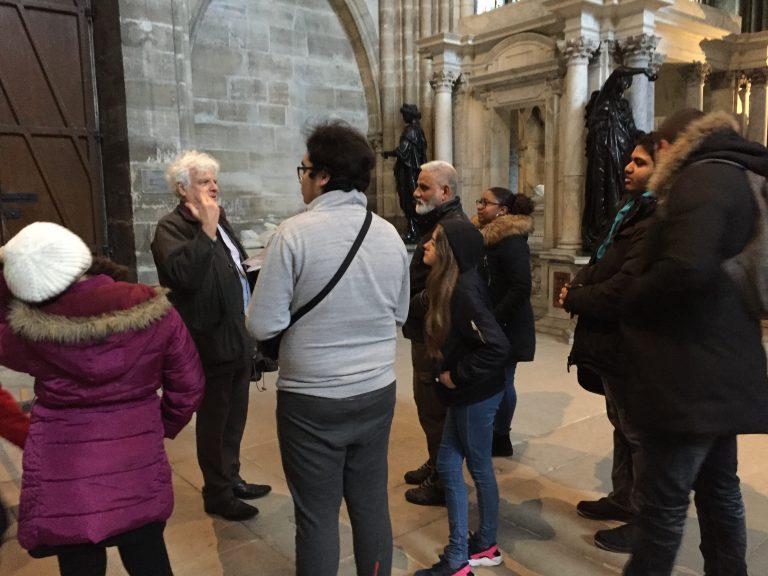 Visite Basilique Saint Denis fev19 (4)